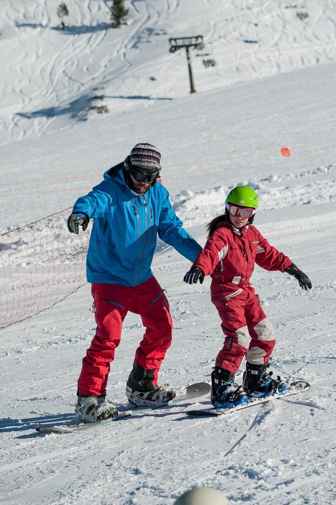 escuela snowboard
