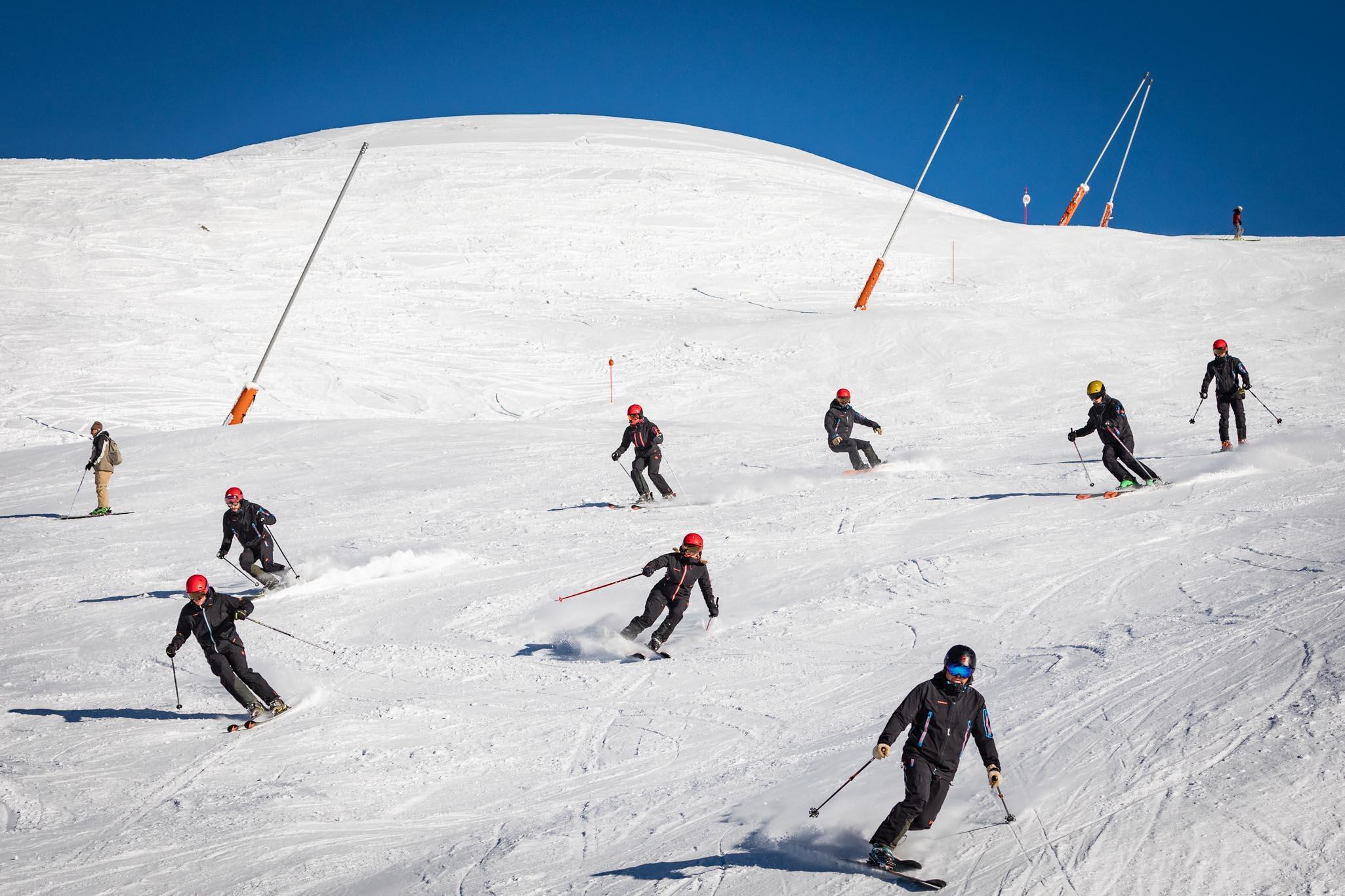 escuela ski baqueira