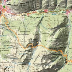 Mapa sector 5 aran by utmb