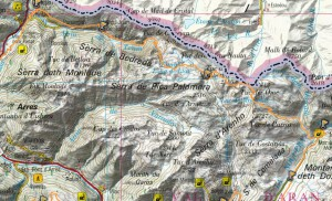 mapa sector 3 aran by utmbjpg