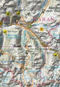 mapa sector 4 aran by utmb